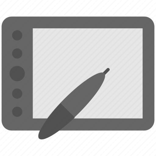 artboard, digitizer, drawing, graphic tablet, tablet icon