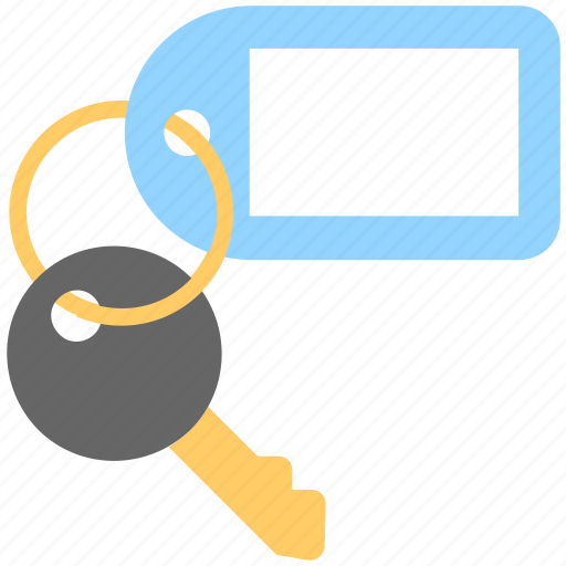 key, keychain, keyring, safety, security icon