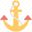 anchor, backlink, link, nautical, seo icon
