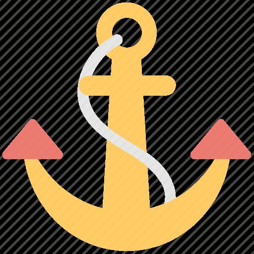 anchor, backlink, link, nautical, seo icon