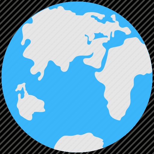 globe, international, map, planet, worldwide icon
