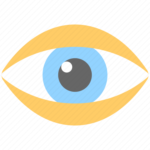 eye, look, preview, see, view icon