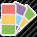colors chart, catalogue, paint swatch, palette, pantone