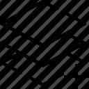add, design, equipment, graphic, layer, new, tool icon