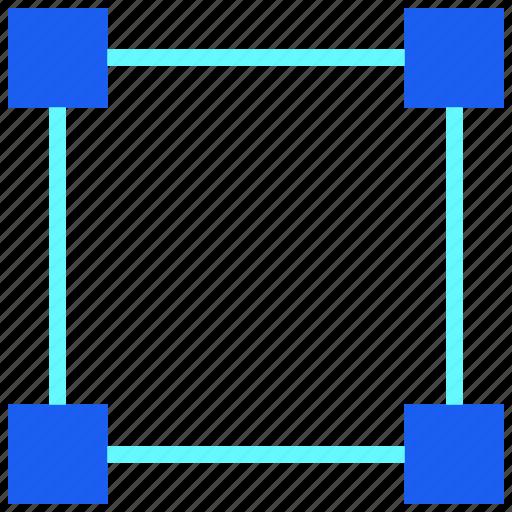 Anchor, desain, design, draw, graphic, pointer, shape icon - Download on Iconfinder