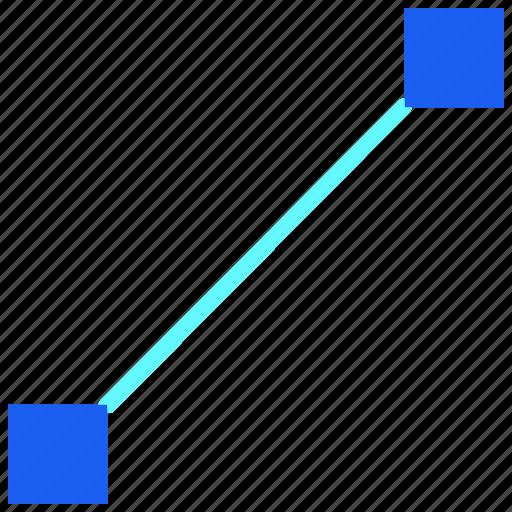 anchor, desain, direction, marker, move, point, pointer icon