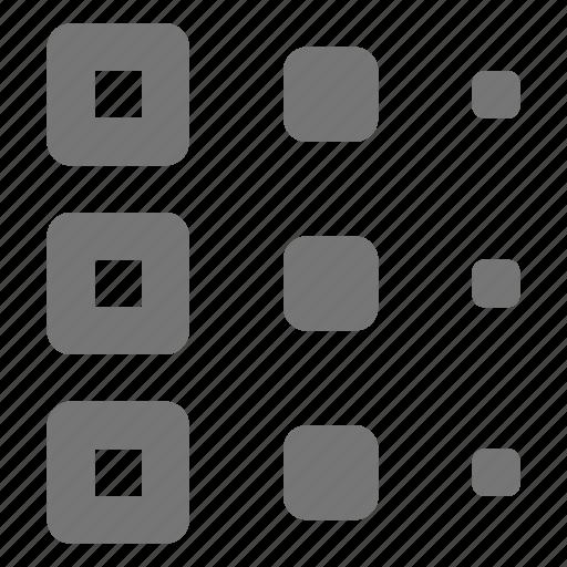 gradient, palette icon