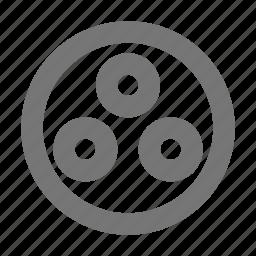 circle, circular, create, design, dots, select, tool icon