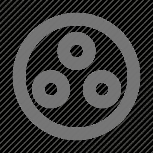 circle, dots icon