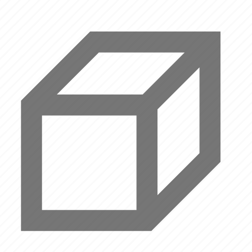 box, create, cube, design, object, shape, tool icon