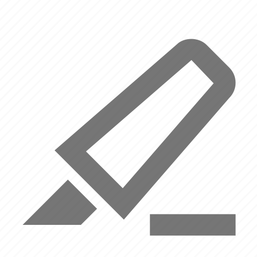 create, design, highlight, important, line, marker, pen, tool icon