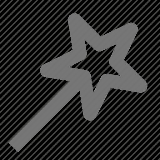 create, design, magic wand, select, smart, star, tool icon