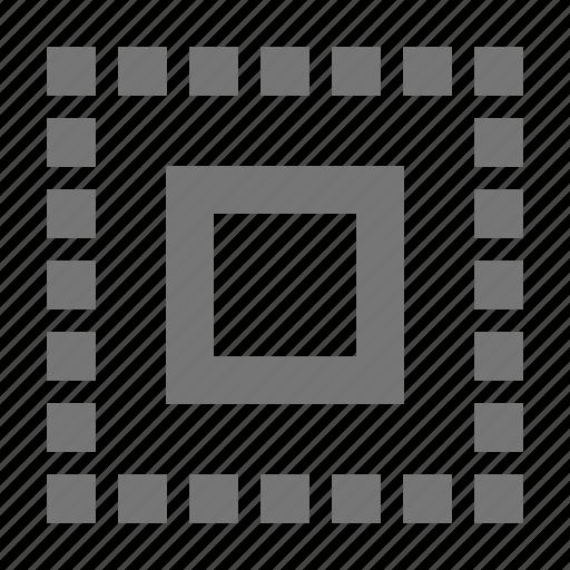 area, select icon