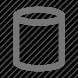 cylinder, tube icon