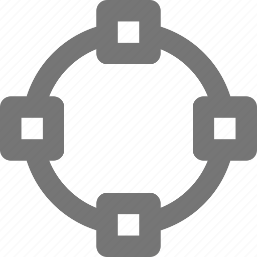 circle, create, crop, design, object, select, shape, tool icon