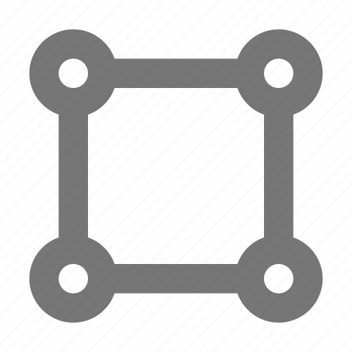 create, crop, cut, design, resize, select, square, tool icon
