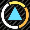 color, triangle