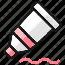 color, tube