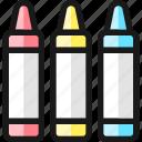 color, tubes