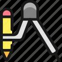 design, tool, compass