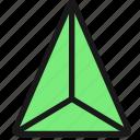 shape, pyramid