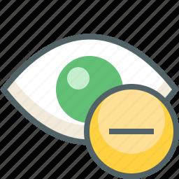 eye, remove icon