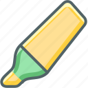 hightlight, pen icon
