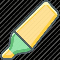 hightlight, pen icon