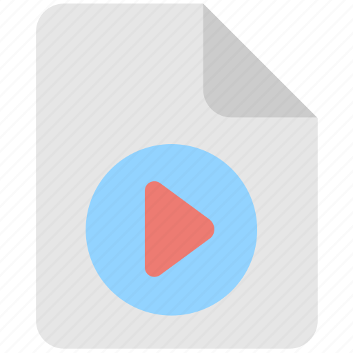 media, movie, multimedia, video, video file icon