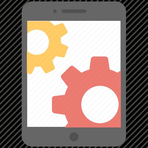api, cog, development, mobile, setting icon