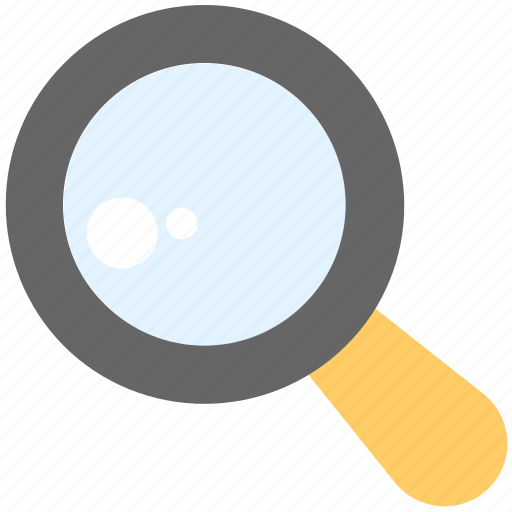 loupe, magnifier, magnifying glass, search, zoom icon
