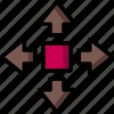 cad, colour, design, move, ultra icon