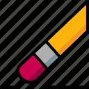 cad, colour, design, erase, ultra icon