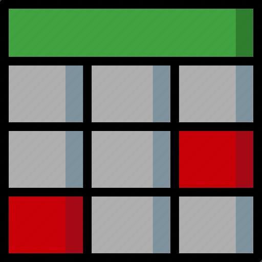 cad, colour, design, table, ultra icon