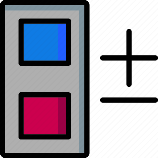 cad, colour, design, edit, group, ultra icon