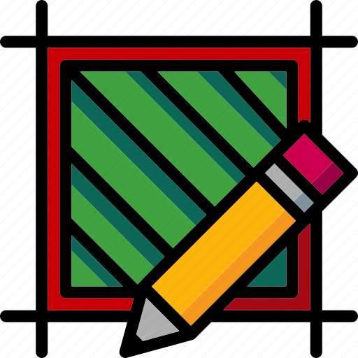 cad, colour, design, edit, hatch, ultra icon