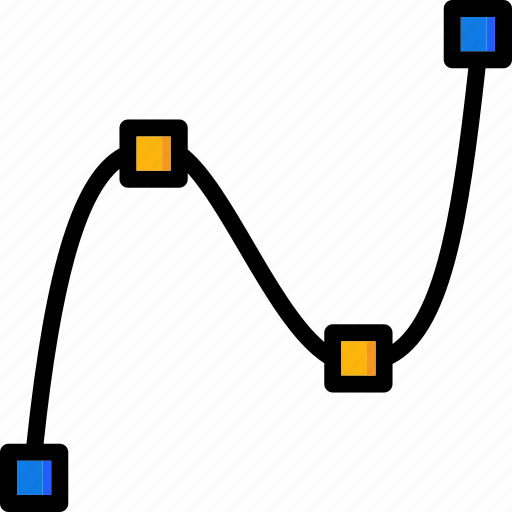cad, colour, design, spline, ultra icon