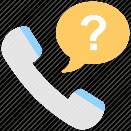 customer service, faq, query, receiver, support icon