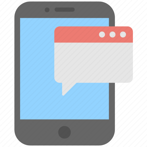 Chat bubble, chatting, message, mobile, sms icon - Download on Iconfinder