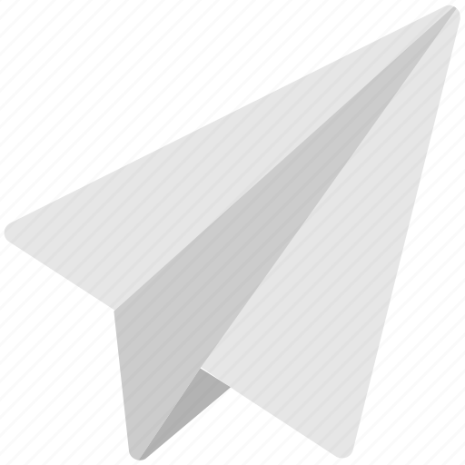 dart, origami, paper plane, plane, send icon