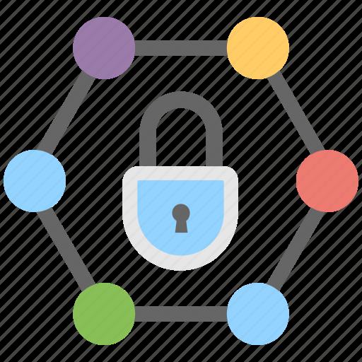 digital lock, lock, padlock, protection, security icon