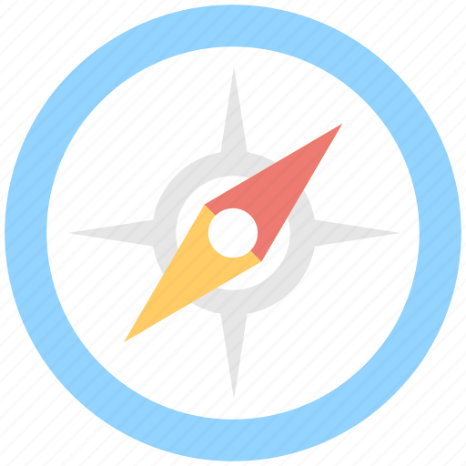 Compass, directional, gps, localization, navigational icon - Download on Iconfinder