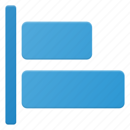 align, left, object icon
