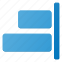 align, object, right icon