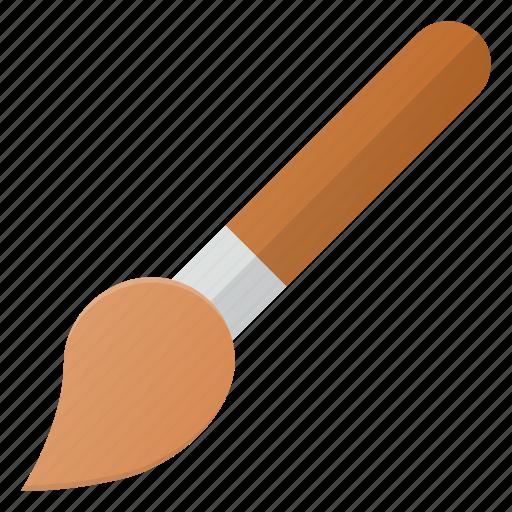 brush, design, paint icon