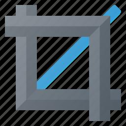 artboard, canvas, crop, tool icon