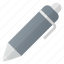 ball, pen, roller, sign, write icon
