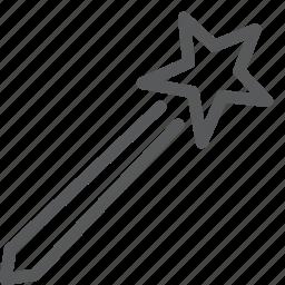 design, editing, enhance, filter, magic, photo, tool, wand icon