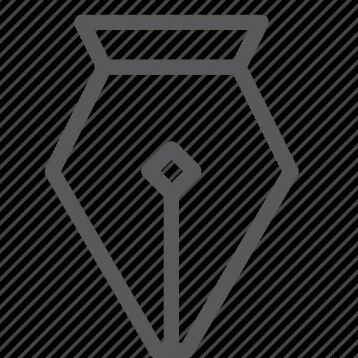 art, design, draw, pen, tool, writing icon