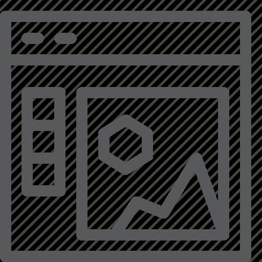 app, concept, design, development, illustration, tool, window icon